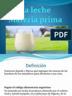 Materias primas I