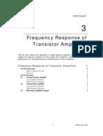 Transistor as Amplifies