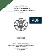 Teknologi Sensor - Manajemen Transportasi