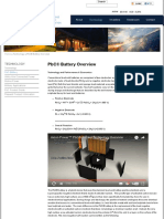 PbC® Battery Overview