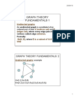 Graph Theory Fundamentals