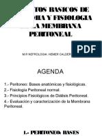Aspectos Basicos de Anatomia y Fisio Membrana Peritoneal