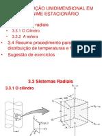 3.3 e 3.4 - Condução unidimensional em regime estacionário.ppt