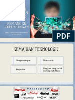 Pengaruh Perusahaan Teknologi Dan Pemangku Kepentingan ppt