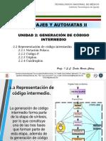 Representacion de Codigo Intermedio
