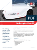 Arrb Walking Profiler WP-G3