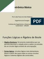 Aula11_FuncoesLogicas_AlgebraBoole