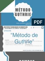 MÉTODO GUTHRIE