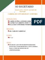 2 PARCIAL- Establezca Que Tipo de Responsabilidades Involucra Las Decisiones de La Junta General Para La Toma de Gestion de Los Administradores