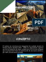 Vanguardismo Anderson Cote