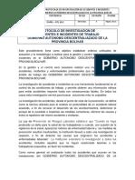 01 - Protocolos de Accidentes e Incidentes
