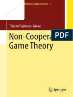 (Monographs in Mathematical Economics 1) Takako Fujiwara-Greve (Auth.)-Non-Cooperative Game Theory-Springer Japan (2015)