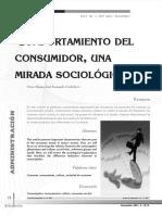Comportamiento Del Consumidor Una Mirada Sicologica Vol3 Num2