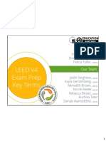 Leed Key Terms - 1 Per Page Handouts