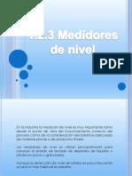 1.4.3 Medidores de Nivel