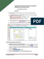 Instructivo Para Generación de Modelo Estructural Con Staad 2015 (1)