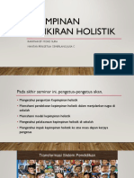 Kepimpinan holistik (1)