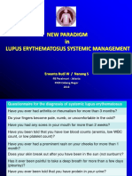 NEW PARADIGM in LUPUS ERYTHEMATOSUS SYSTEMIC MANAGEMENT