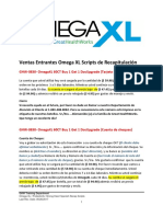Ventas Entrantes OmegaXL-PXL-STH Scripts de Recapitulacion - 05262017