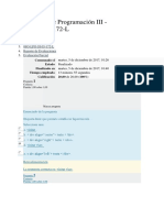 Lenguaje de Programación III Examen Parcial Vciclo Ing Sistemas