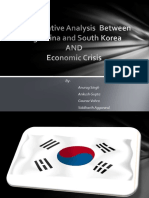 Comparative Analysis between Argentina and South Korea and Economic Crisis