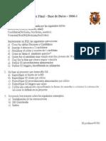 Examen Final Base de Datos Luis Alarcon FISI UNMSM