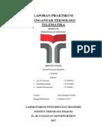 Laporan PTT MODUL II a.fauzzan.M (Fix3)