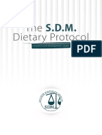 Diet Protocol SDM Eng