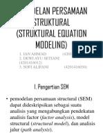 Kel.10 Pemodelan Persamaan Struktural