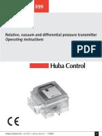 Pressure Transmitter 699 BA Full En