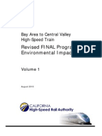 CA HSR Revised Final EIR--Volume I (2010)