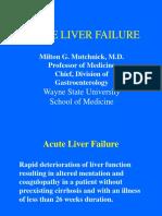 Acute Liver Failure - Dr. Mutchnick