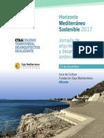 Aula de Cultura de Alicante. Programa. Arquitectura Sostenible. Diciembre 2017