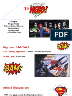 group 6- art 133- my comic hero