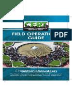 California CERT Field Operations Guide 2014