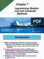 Chapter 07 - LP Models