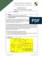 Guía 6 Amplficadores Rf