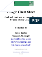 Google Cheat Sheet - JSpellos