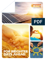 Brochure of Power n Sun, Solar Energy Products Supplier