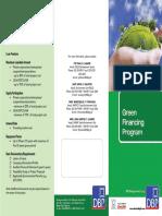 Green Financing Program - DBP