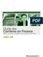 Guide Carrière Finance