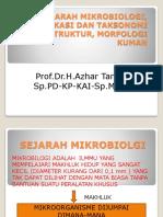 Sejarah Mikrobiologi, Klasifikasi Dan Taksonomi Kuman,