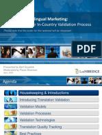Mastering Multilingual Marketing