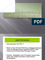 Clinical Pathway & Cost of Treatment