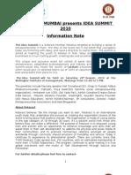 Rotaract Idea Summit Note