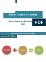 Bahan PEngisi Tablet