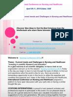Nursing Conferences 2018