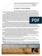 10 - my fathers faculty meeting