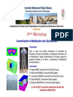 4eme Workshop 10 Mai 2017