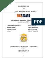 Parvez Ahmad Ansari Report Big Bazaar - Parvez